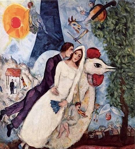 Les Mariés de la Tour Eiffel. 1939   Favorite Paintings digital   Scoop.it