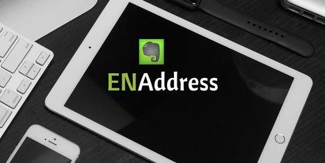 ENAddress, utiliser des adresses mails multiples dans Evernote - Les Outils Numériques | BàON - la Boite à Outils Numériques | Scoop.it