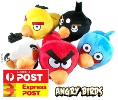 Plush Angry Birds Slippers on ikOala Deals | Marvellous deals for kids | Scoop.it