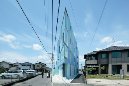 [Shiga, Japan] On the Corner / Eastern Design Office | The Architecture of the City | Scoop.it