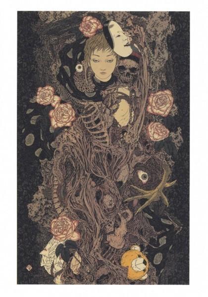 L'art morbide de Takato Yamamoto   freehand illustration and graphic design   Scoop.it