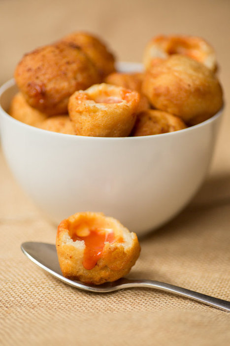 Grilled cheese and tomato soup dumplings are like childhood dim sum | Yummy goodness | Scoop.it