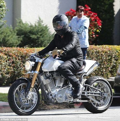 Brad Pitt's new ride by Ecosse Moto Works | Vintage Motorbikes | Scoop.it