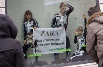 Quand Greenpeace a fait plier Zara et compagnie - AgoraVox | Zara : la consommation française des marques espagnoles | Scoop.it