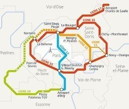 Société du Grand Paris | Ressources en Géographie | Scoop.it