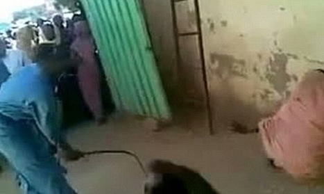 Sudanese Woman Flogged in the Streets for Riding in a Car With a Man  (Video) | ''SNIPPITS'' | Scoop.it
