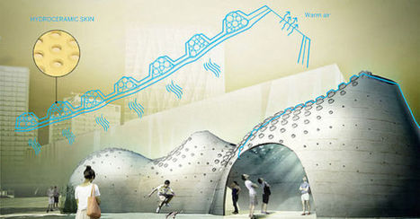 Hydroceramic Walls Could Cool Buildings By Sweating Like Human Skin | sustainability and resilience | Scoop.it
