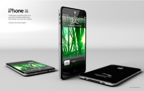 A new gorgeous iPhone concept we wish was from Apple | Apple Rocks! | Scoop.it