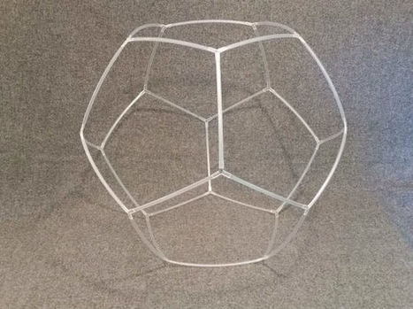 Make a Dodecahedron out of Plastic Straws | Geometry Math | Scoop.it