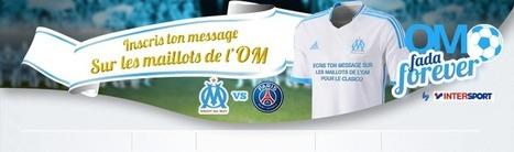 Votre message sur le maillot de l'OM pour le Clasico | Coté Vestiaire - Blog sur le Sport Business | Scoop.it