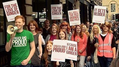 Redheads stage Ginger Pride walk | Edinburgh Fringe and Arts | Scoop.it