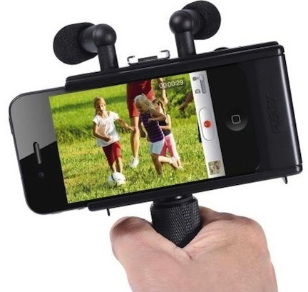 Fostex AR-4i turns iPhone 4 into handheld stereo HD video ... | Richard Dubois - Mobile Addict | Scoop.it