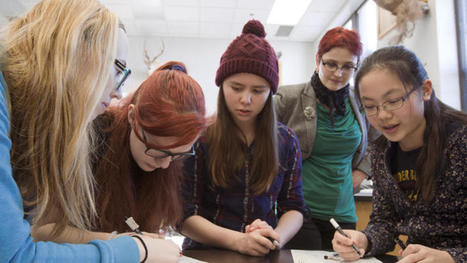 Girls Tech Club introduces eighth-grade girls to potential math, science careers - Grand Forks Herald | CLOVER ENTERPRISES ''THE ENTERTAINMENT OF CHOICE'' | Scoop.it