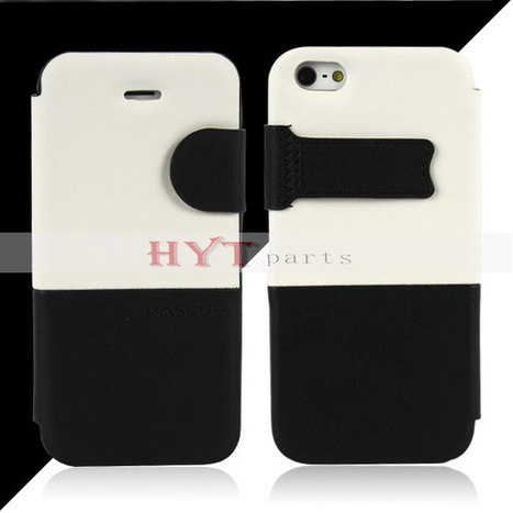 Contrast Color Design Folio Case for iPhone 5 5S | How to save more money and time | Scoop.it