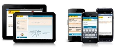 La Seguridad Social lanza aplicaciones para realizar trámites desde iOS y Android | Pedalogica: educación y TIC | Scoop.it