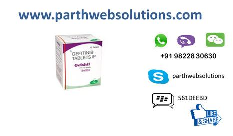 Gefshil Gefitinib Tablet (250 mg) 15 Tablets | Pharmacy Dropshipping | Scoop.it