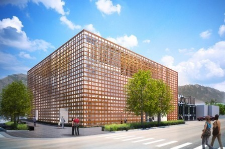 [Aspen, Colorado, USA] Update: Aspen Art Museum / Shigeru Ban Architects   The Architecture of the City   Scoop.it
