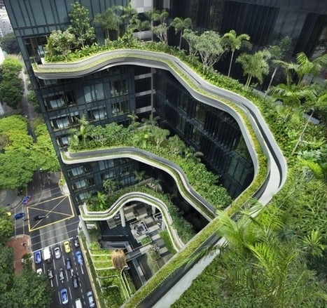 When Buildings MIMIC Nature: Singapore's PARKROYAL Hotel | The Architecture of the City | Scoop.it