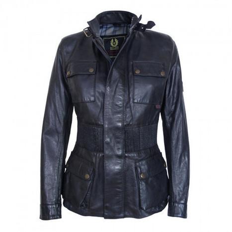 Manteaux Hiver à bas prix Belstaff Brain Long Antique Noir Vestes Cuir Femme | daunenmantel damen | Scoop.it
