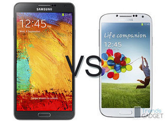 Samsung Galaxy Note 3 vs Galaxy S4 Strong Rival Within Company - Trends Gadget   Gadget Information   Scoop.it