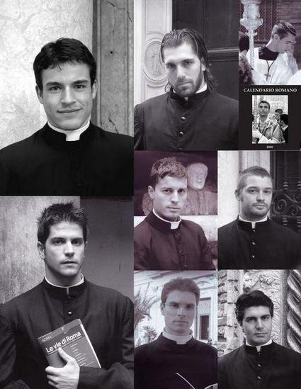YUM: The Vatican's Hottest REAL Priests Are On Display In 2014 'Roman Priest Calendar'   Innovative Woman   Scoop.it