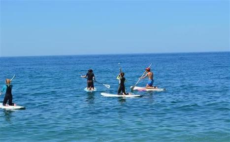 Paddle surfing on the Costa Tropical - Spain Holiday | Nature Sports in Spain | Scoop.it