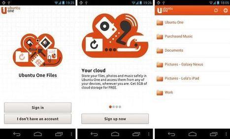 Ubuntu One para Android, 5 Gb para almacenar y sincronizar archivos | Recull diari | Scoop.it