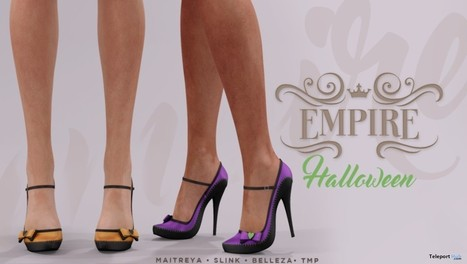 High Heels With HUD 1L Promo Halloween 2016 Gift by EMPIRE | finding secondlife freebies | Scoop.it