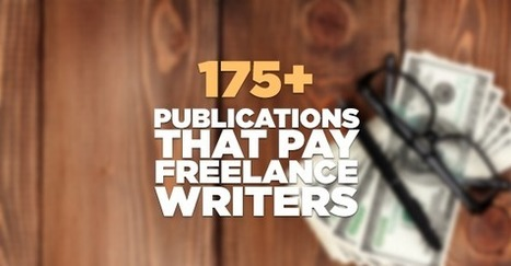 192 Publications That Actually Pay Freelance Writers | World of Film | Scoop.it