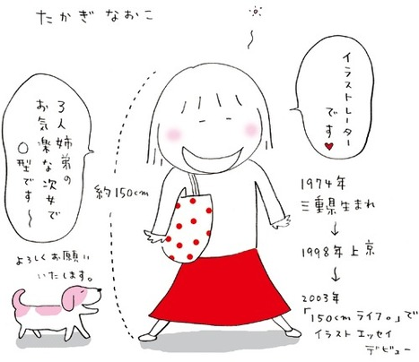 Tagaki Naoko's hand drawn bio | Dibujo | Scoop.it
