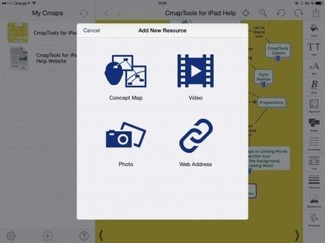 Cmaptools, logiciel de concept mapping gratuit est disponible sur Ipad - [MIND MAPPING POUR TOUS] | Mind Mapping | Scoop.it