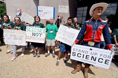 Creationists Are Choosing Texas' Science Textbooks | Grade 5-6 | Scoop.it