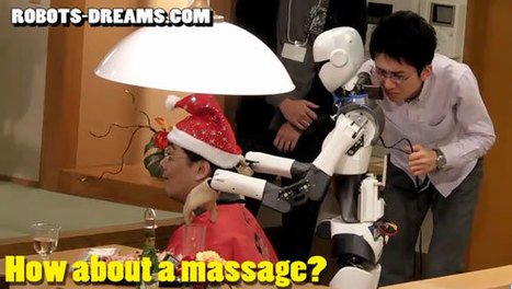 Robots Soon Able to Serve Beer and Give Massages   Robots humanoides   Scoop.it