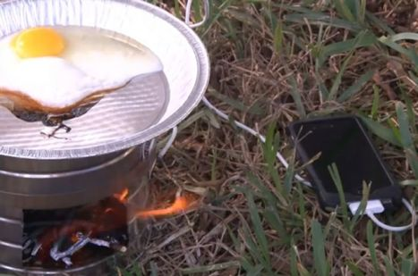 Charge Your Cell Phone with Fire | DIY | Maker | Scoop.it