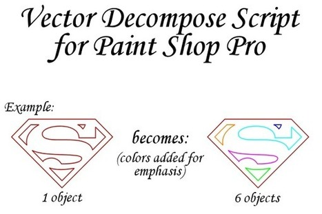 Vector Decompose Script by MorganRLewis on deviantART | Crafty Crafts-all free | Scoop.it