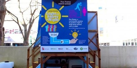 Des toilettes éclairées à l'urine | Innovation - Environnement | Scoop.it