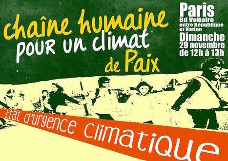Voici les lieux et les dates des mobilisations climat de samedi et dimanche - Reporterre | Actualités écologie | Scoop.it