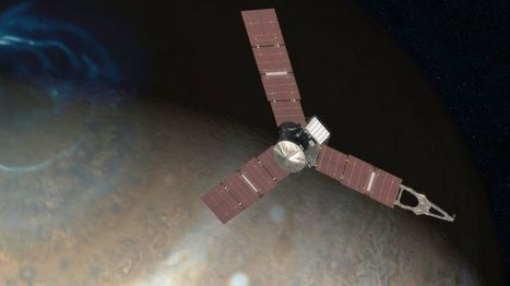 Juno mission: Jupiter probe nears critical orbit manoeuvre - BBC News | Jeff Morris | Scoop.it