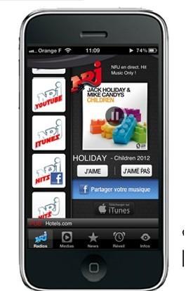 NRJ lance une webradio avec Shazam | Radio 2.0 (En & Fr) | Scoop.it