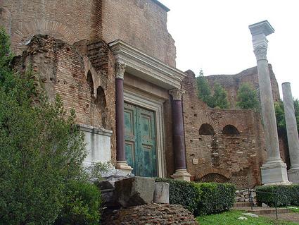 El Templo de Rómulo, edificio del Foro Romano | El Panteón romano | Scoop.it