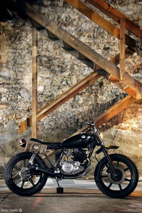 Yamaha SR250 Street Tracker | Lab Motorcycles - Grease n Gasoline | DIY electric bikes | Scoop.it