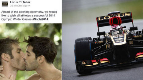 Lotus Formula 1 PR Guy Says He Was Fired For 'Supporting Gay Athletes' - Jalopnik | Swing your communication | Scoop.it