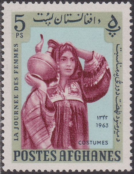 Woman in national costume – Michel AF 826A | Philately, Books & Comics | Scoop.it
