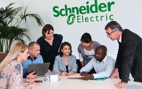 Schneider Electric branche ses salariés sur son réseau social - 01net | Enterprise Social Network | Scoop.it