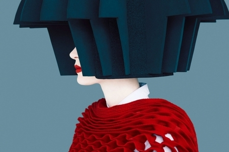 High fashion photographs that could be mistaken for graphic vector art | Photography News Journal | Scoop.it