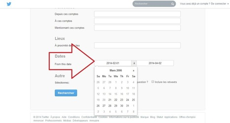 Twitter propose la recherche de tweets par date - #Arobasenet | le community manager !!!! | Scoop.it