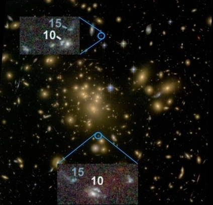 Astronomers discover likely precursors of galaxy clusters we see today - Phys.Org | Cosmology | Scoop.it
