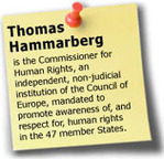 Council of Europe Commissioner for Human Rights | Human Rights and the Will to be free | Scoop.it