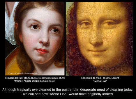 Cleaning Mona Lisa, by Art Historian Lee Sandstead | Leica | Scoop.it