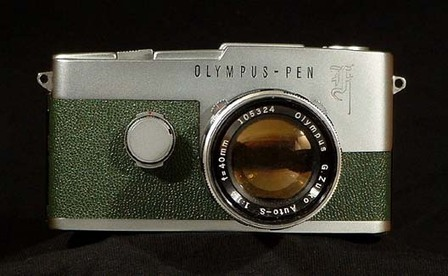 Cameraleather - Genuine leather for Olympus Pen SLR's | L'actualité de l'argentique | Scoop.it